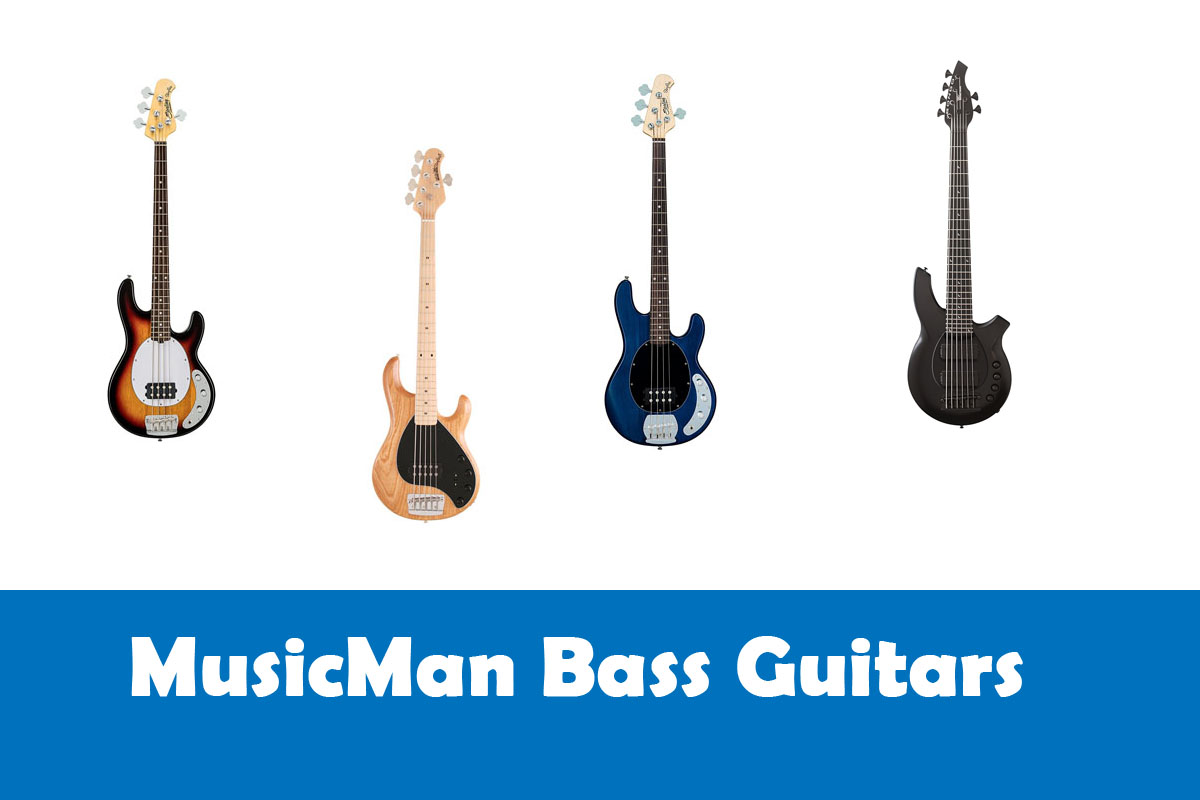 MusicMan Bass Guitars
