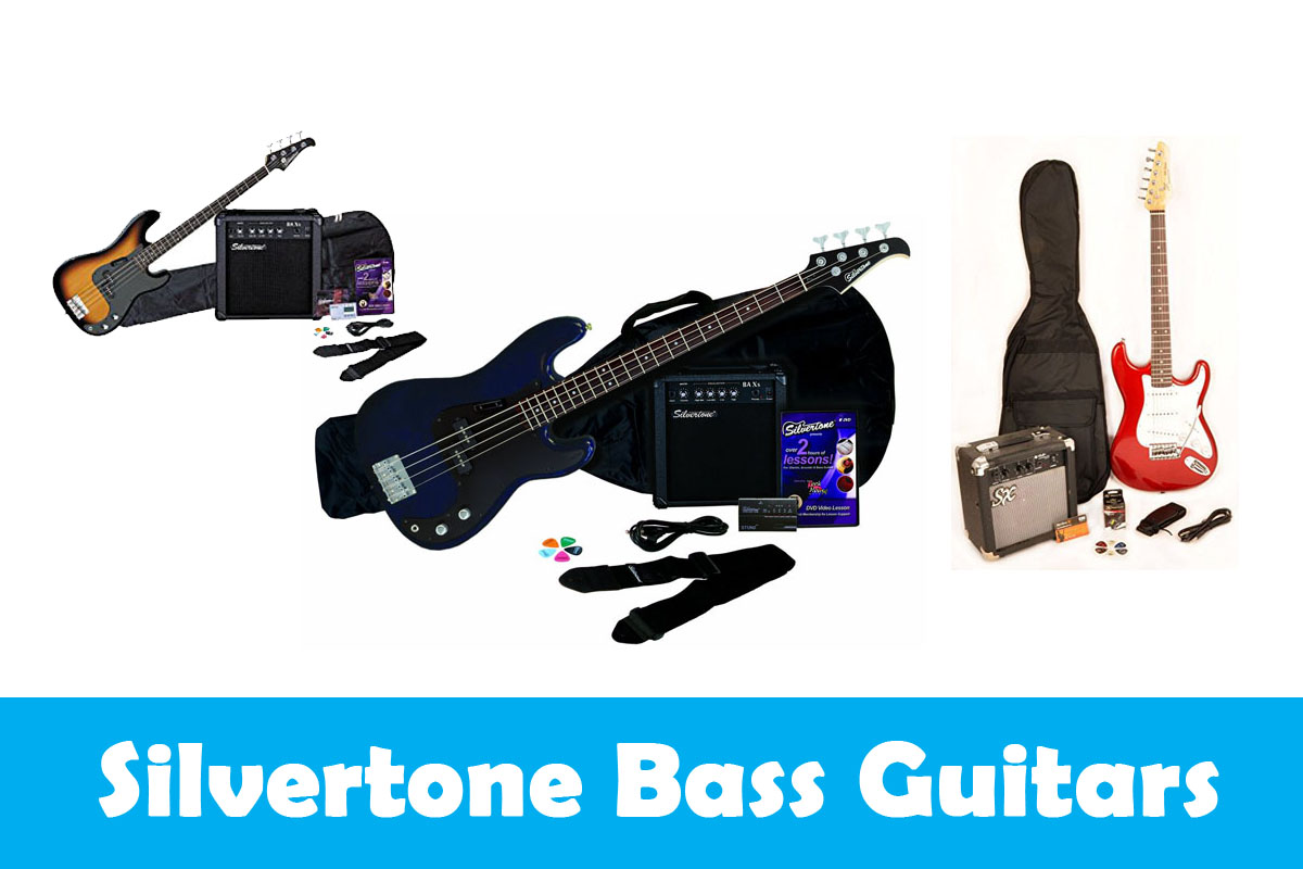 Silvertone Bass Guitars